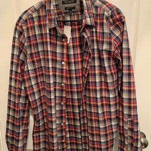 Banana Republic, Old Navy, Ted Baker Shirts - 4 Men's casual button down shirts.